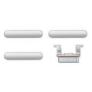 Replacement for iPhone 8 Side Buttons Set - Silver