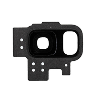 Replacement for Samsung Galaxy S9 SM-G960 Rear Camera Holder with Lens - Black