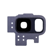 Replacement for Samsung Galaxy S9 SM-G960 Rear Camera Holder with Lens - Blue