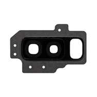 Replacement for Samsung Galaxy S9 Plus SM-G965 Rear Camera Holder with Lens - Black