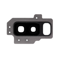 Replacement for Samsung Galaxy S9 Plus SM-G965 Rear Camera Holder with Lens - Grey