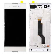 Replacement for Sony Xperia XA1 LCD Screen Digitizer Assembly with Frame - White