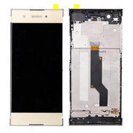Replacement for Sony Xperia XA1 LCD Screen Digitizer Assembly with Frame - Gold