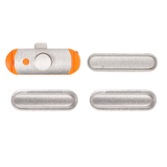Replacement for iPad 5 Side Buttons Set - Silver