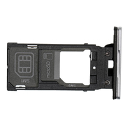 Replacement for Sony Xperia XZ2 Dual SIM Card Tray - Silver