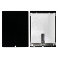 "Replacement for iPad Pro 12.9"" 2nd Gen LCD Screen and Digitizer Assembly with Board Flex Soldered Complete - Black"