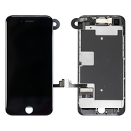 Replacement for iPhone 8 LCD Screen Full Assembly without Home Button - Black