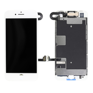 Replacement for iPhone 8 LCD Screen Full Assembly without Home Button - White