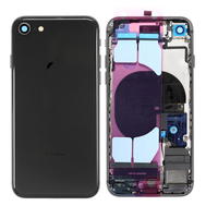 Replacement for iPhone 8 Back Cover Full Assembly - Space Gray