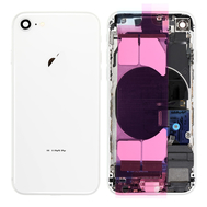 Replacement for iPhone 8 Back Cover Full Assembly - Silver