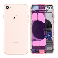 Replacement for iPhone 8 Back Cover Full Assembly - Rose