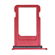Replacement for iPhone 8 Plus SIM Card Tray with Waterproof Circle - Red