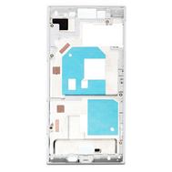 Replacement for Sony Xperia X Compact/Mini Middle Frame Front Housing - White, fig. 1