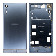 Replacement for Sony Xperia XZ Back Cover with Middle Frame - Forest Blue