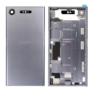 Replacement for Sony Xperia XZ1 Back Cover with Middle Frame - Moonlight Blue