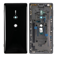 Replacement for Sony Xperia XZ2 Back Cover with Middle Frame - Liquid Black