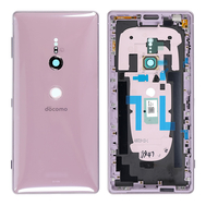 Replacement for Sony Xperia XZ2 Back Cover with Middle Frame - Ash Pink