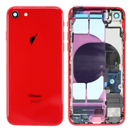 Replacement for iPhone 8 Back Cover Full Assembly - Red