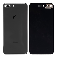 Replacement for iPhone 8 Plus Back Cover with Camera Holder - Space Gray