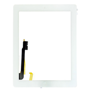 Replacement for iPad 4 White Touch Screen Assembly