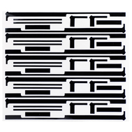 Replacement for iPad Mini Screen Adhesive Sticker Black