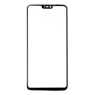 Replacement For OnePlus 6 Front Glass - Black