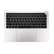 "Silver Upper Case Assembly (US English) for Macbook Pro 13"" A1706 (Late 2016-Mid 2017)"