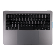"Space Gray Upper Case Assembly (US English) for Macbook Pro 13"" A1708 (Late 2016-Mid 2017)"