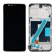 Replacement for OnePlus 5T LCD Screen Digitizer Assembly with Frame - Black