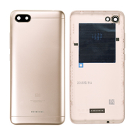 Replacement for RedMi 6A Back Cover - Gold