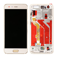 Replacement for Huawei Honor 9 LCD Screen Digitizer with Frame - Gold
