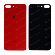 Replacement For iPhone 8 Plus Back Cover - Red, Condition: After Market Basic