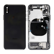 Replacement for iPhone X Back Cover Full Assembly - Black