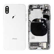 Replacement for iPhone X Back Cover Full Assembly - Silver