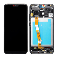 Replacement for Huawei Honor 10 LCD Screen Digitizer Assembly with Frame - Black