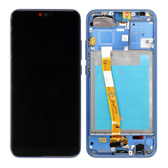 Replacement for Huawei Honor 10 LCD Screen Digitizer Assembly with Frame - Blue