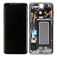 Replacement for Samsung Galaxy S9 SM-960 LCD Screen Digitizer Assembly with Frame - Black