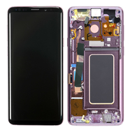 Replacement for Samsung Galaxy S9 Plus SM-965 LCD Screen Digitizer Assembly with Frame - Purple