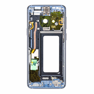 Replacement for Samsung Galaxy S9 SM-G960 Rear Housing Frame - Blue