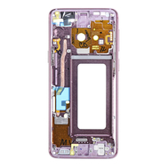 Replacement for Samsung Galaxy S9 SM-G960 Rear Housing Frame - Purple