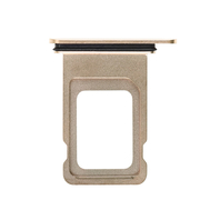 Replacement for iPhone Xs Max Dual SIM Card Tray - Gold