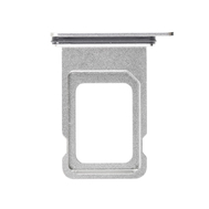 Replacement for iPhone Xs Max Dual SIM Card Tray - Silver