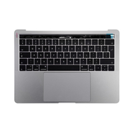"Space Gray Upper Case Assembly (British English) for Macbook Pro 13"" A1706 (Late 2016-Mid 2017)"