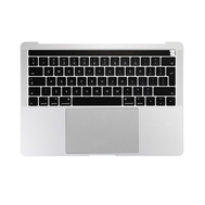"Silver Upper Case Assembly (British English) for Macbook Pro 13"" A1706 (Late 2016-Mid 2017)"