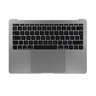 "Space Gray Upper Case Assembly (British English) for Macbook Pro 13"" A1708 (Late 2016-Mid 2017)"