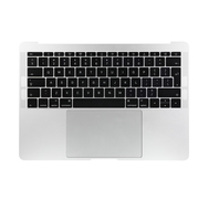 "Silver Upper Case Assembly (British English) for Macbook Pro 13"" A1708 (Late 2016-Mid 2017)"