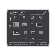 QianLi ToolPlus 3D iBlack Communication Base Band BGA Reballing Black Stencil, Type: For 5S Q4