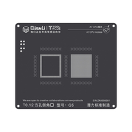 QianLi ToolPlus 3D iBlack iPhone CPU Module BGA Reballing Black Stencil, Type: For A7 5S Q3