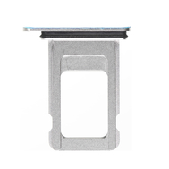 Replacement for iPhone Xs Max Single SIM Card Tray - Silver