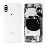 Replacement for iPhone Xs Back Cover Full Assembly - Silver